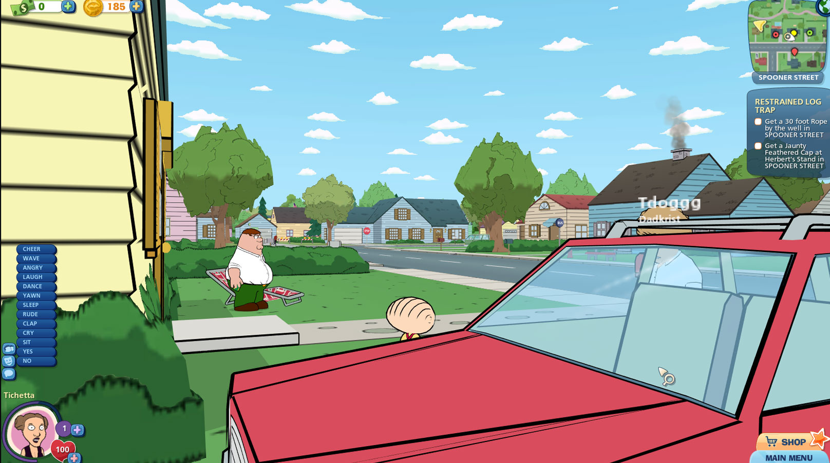Family Guy Online Review Free To Play Screenshots And Videos